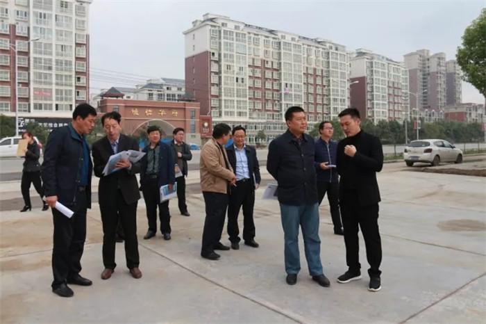 川汇区政协主席张剑锋一行视察千赢国际qy88新能源汽车城